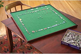 Bits and Pieces - Square Jigsaw Puzzle Spinner - Puzzle Accessories- Lazy Susan Puzzle Table Surface Fits 1500 pc Puzzles - Spin Puzzle to Reach Sections You Need