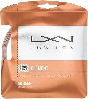 Luxilon Element Tennis String Bronze ()