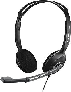 Sennheiser 森海塞尔 PC230 头戴多媒体多用途立体声耳麦(轻巧舒适,完全可旋转话筒臂)