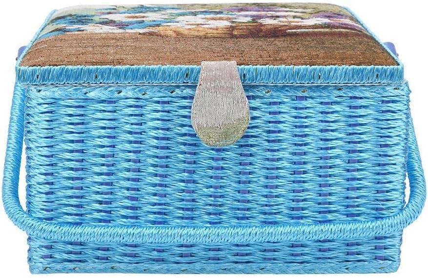 depot price JingYi Sewing Basket European Style Home Tool Ba Storage