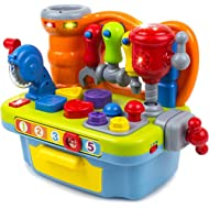 Toysery Musical Learning Workbench Toy Set Great Educational Learning Toy for Teaching Colors,...