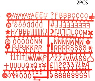 adc3a9c019 RingBuu Board Letters - Characters for Felt Letter Board 340 Piece Numbers  Symbols Alphabets for Changeable