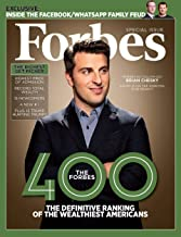 Forbes Magazine (October 31, 2018) Special Issue The Forbes 400 Brain Chesky Airbnb CEO Cover