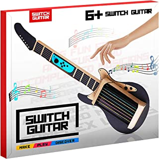 MENEEA Cardboard Guitar for Nintendo Switch Accessories Variety Kit,Guitar for Toy-Con Garage