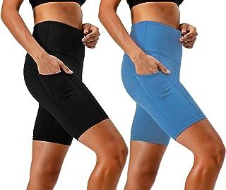 Women's 2-Pack High Waist Workout Yoga Running Exercise...