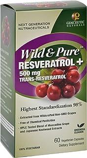 Genceutic Naturals Resveratrl Wld&Pure 500Mg 60 Vcap