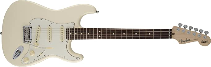 Fender Jeff Beck Stratocaster Electric Guitar, Rosewood Fingerboard - Olympic White