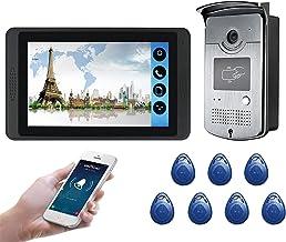 Wifi Video Deurbel, Intercom, Video Deurtelefoon Kit, Nachtzicht Camera + 7 Inch Monitor, ID Card APP Unlock