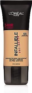 L'Oreal Paris Cosmetics Infallible Pro-Matte Foundation Makeup, Natural Buff, 1 Fluid Ounce by L'Oreal Paris