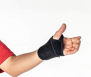 Yooneek FIR-Skin T+ Far Infrared Rays (FIR) Wrist Support - Slim, with Xmarr Ventilated Cushion Foam, Black, OSFA