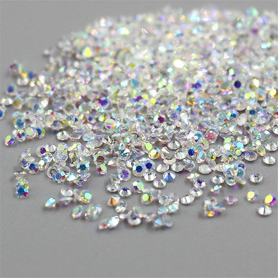 Buy 1 Get Free 1 Crystal 1.1Mm Pixie Crystal Rhinestones For 3D Nails Art Crystal AB