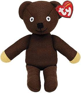 Mr Bean - Oso de Punto de 25 cm, diseño de Oso de bebé por TY (Producto Oficial de Recuerdo)