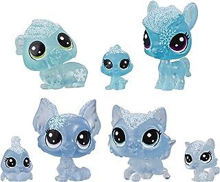 Littlest Pet Shop Frosted Wonderland Pet Friends Toy, Blue Theme, Includes 7 Pets, Ages 4 & Up
