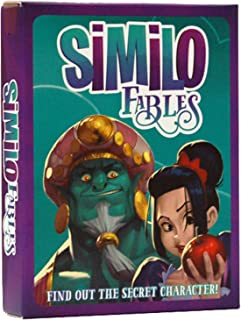 Similo Fables: A Fast Playing Family Card Game - Guess the Secret Fairy Tale Character, 1 Player is the Clue Giver & Other...
