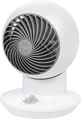 Woozoo Mini Globe Circulator Table Fan, White PCF-SM12N