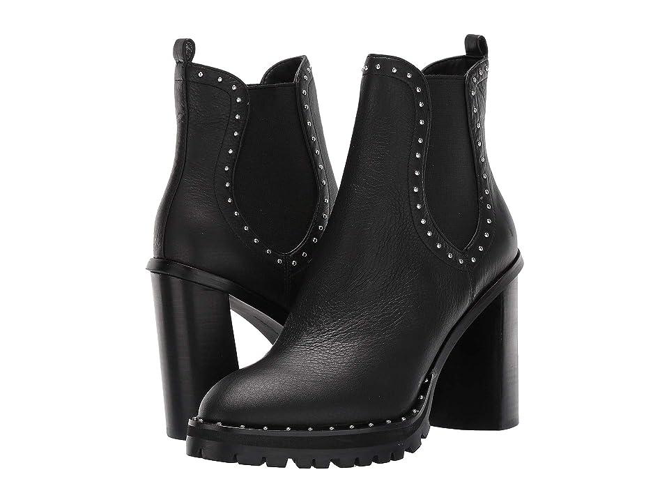 Rebecca Minkoff Edolie (Black Leather) Women