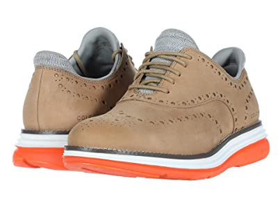 Cole Haan Original Grand Ultra Wing Ox (Titanium Nubuck/Hawaiian Sunset/Optic White) Men