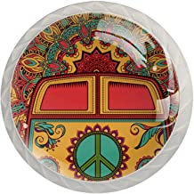 Lade Handvatten Trek Decoratieve Kabinet Knoppen Dressoir Lade Handvat 4 Pcs,Bus