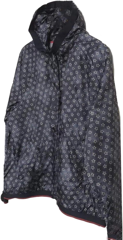 Ralph Lauren Polo Men's Navy Star Print Windbreaker Windcheater Jacket