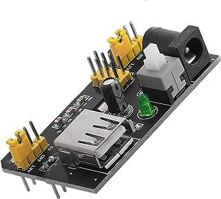AZDelivery ⭐⭐⭐⭐⭐ MB102 Breadboard Adaptador de fuente de alimentación Módulo de fuente de alimentación 3.3V / 5V para Arduino