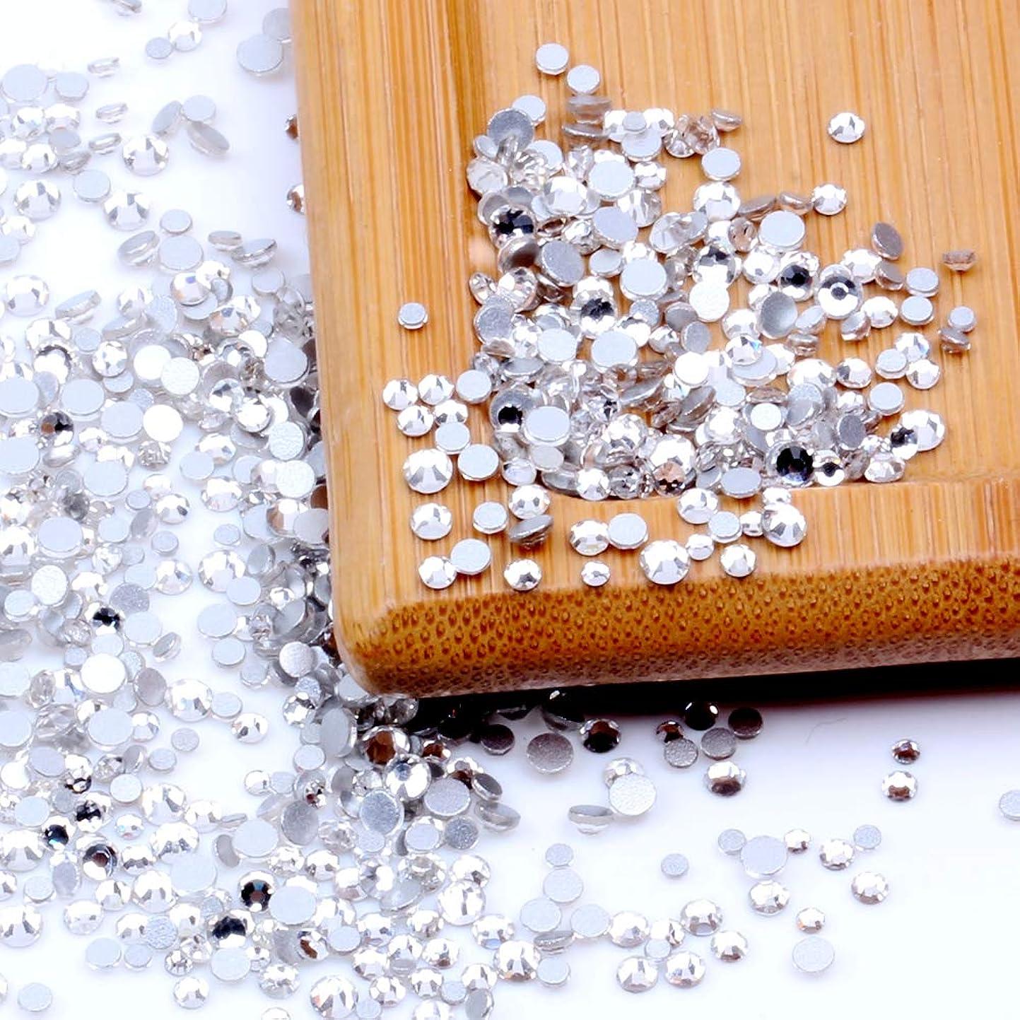 あまりにも急襲ありふれたNizi ジュエリー ブランド ホワイトクリスタル ラインストーン はガラスの材質 ネイル使用 型番ss3-ss60 (SS8 1440pcs)
