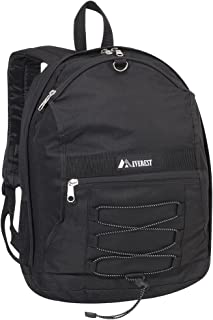 Everest Luggage Two Tone Backpack with Mesh Pockets