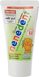 Nenedent Kindertandcrème homapathie contract met fluoride (1 x 50 ml)