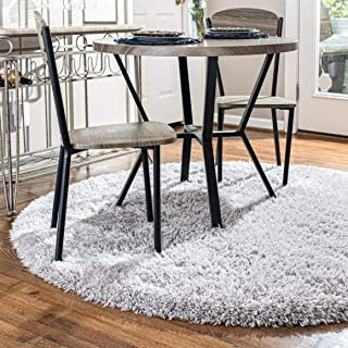 Rugs.com Infinity Collection Solid Shag Area Rug – 5 Ft...