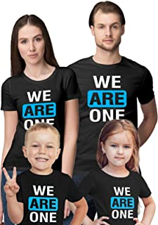 Wear Your Opinion Father Mother Daughter Son Printed Cotton Family Tshirt