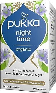 Pukka Herbs Organic Night Time Capsules, Pack of 60