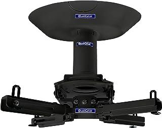 محول سقفي فردي مزدوج مزدوج من كوال جير برو AV QG-KIT-CA-3IN-B بطول 3.8 سم، أداة تركيب جهاز العرض 3.8 سم، أسود