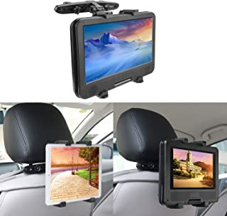 BEDEE Car Headrest Mount Holder for Tablet DVD Player Universal Holder Cradle Bracket with 360° Adjustable Rotatable for iPad Mini Samsung Galaxy Kindle Fire 7inch to 12