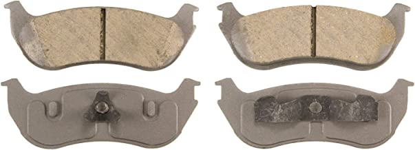 Wagner ThermoQuiet QC881 Ceramic Disc Pad Set With Installation Hardware, Rear