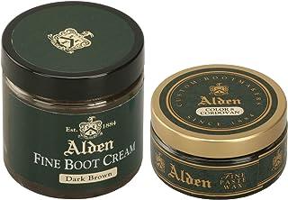オールデン シュークリーム ワックスセット ALDEN SHOE CREAM WAX SET [並行輸入品] (クリーム:ダークバーガンディー ワックス:カラー8 コードバン)