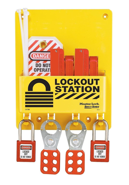 Master Lock Lockout Tagout Popular overseas Station Popular brand Set Compact Center