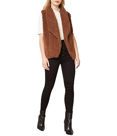 BB Dakota Fleeced I Could Do Vest (Toffee) Women