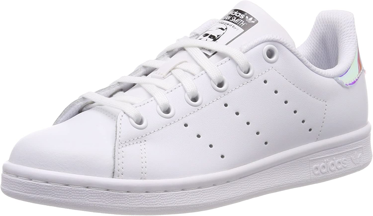 Amazon.com | Adidas Youth Stan Smith Leather Trainers | Sneakers