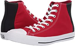 a6830c52d0a27e Enamel Red Black White. 62. Converse. Chuck Taylor® All Star® Color Block  Patch Hi