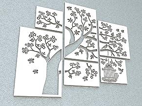 Pannelli decorativi Albero Primavera - Decorazione Arredo Casa Parete Muro