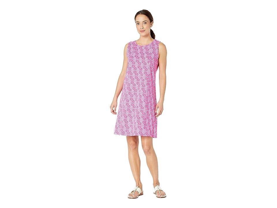 Fresh Produce Tidepool Geo Marissa Dress (Raspberry) Women