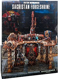 Citadel Sector Mechanicus Sacristan Forgeshrine Scenery Warhammer 40,000