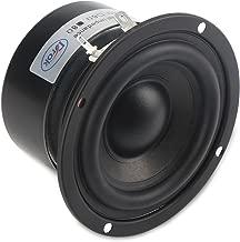 DROK 25W 3 Inch Round Shape 8 Ohm Woofer Speaker Stereo Loudspeaker Computer Compact Speakers, DIY Home Car Audio HiFi Speakers Bass 90Hz-5KHz