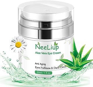 Eye Cream, Aloe Vera Eye Cream for Under and Around Eyes Smooth Fine Lines, Vitamin C Eye Moisturizer Cream...