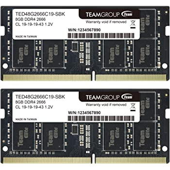 DDR4 2400 SODIMM PC4-19200 1.2V 260-Pin Memory Upgrade Module A-Tech 16GB RAM for HP ZBook 15u G6 Mobile Workstation