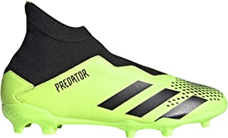 adidas Predator 20.3 LL FG Niño, Bota de fútbol, Signal Green-Core Black