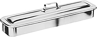 Graham-Field Grafco Instrument Catheter Tray with Strap Handle, Stainless Steel, 8-7/8 x 5 x 2