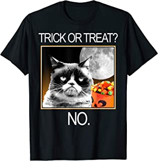 Halloween Trick Or Treat No Graphic T-Shirt