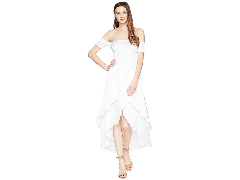 Lucy Love Portrait Dress (White) Women