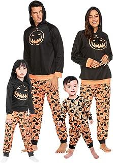 Halloween Family Pajama Set Costumes Holiday Macthing Sleepwear PJ Sets Pumpkin Print