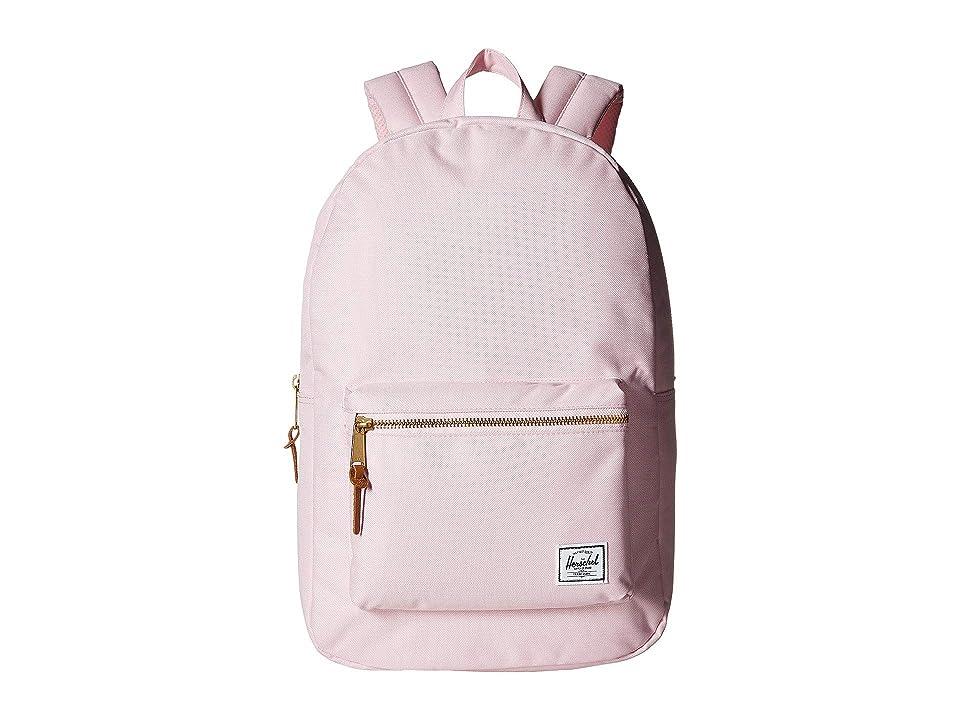 Herschel Supply Co. Settlement (Pink Lady Crosshatch) Backpack Bags